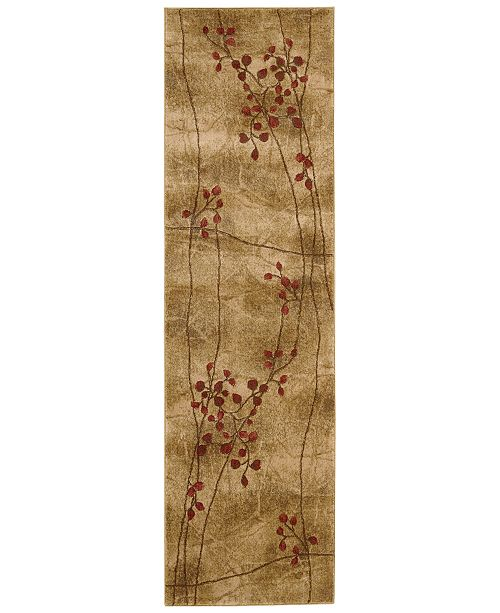 Nourison Closeout Area Rug Somerset Collection St74 Latte Blossom