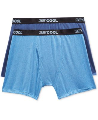 Image of 32 Degrees Cool Men's Boxer Briefs, 2 Pack