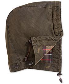 Barbour Men's Waxed Cotton Hood
