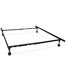 Sleep Trends Hercules Standard Adjustable Metal Bed Frame, Assembly Required, Quick Ship, Created for Macy's