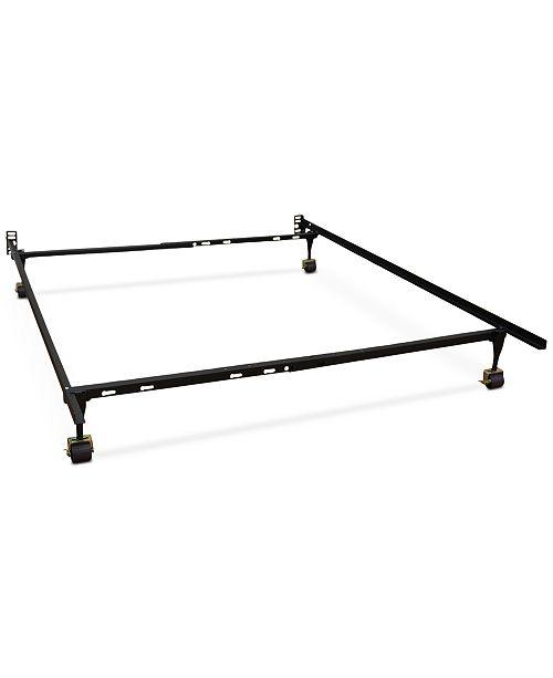 Furniture Sleep Trends Hercules Standard Adjustable Metal Bed Frame ...