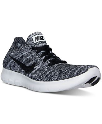 Nike Boys' Free Run Flyknit Running Sneakers from Finish Line