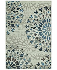 CLOSEOUT! Menagerie MEN567 Ivory Area Rugs