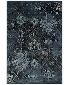 "CLOSEOUT! D Style Menagerie MEN2161 Denim 3'3"" x 5'1"" Area Rug"