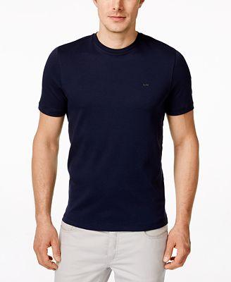 Michael Kors Men's Basic Crew Neck T-Shirt - T-Shirts - Men - Macy's