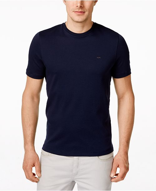 77e90b4d733 Michael Kors Men s Basic Crew Neck T-Shirt   Reviews - T-Shirts ...