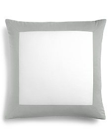 Charter Club Damask Designs Colorblock Dove European Sham, Created for Macy's