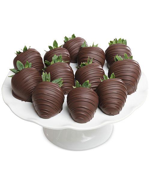 Chocolate Covered Company 12-pc. Dark Chocolate Covered Strawberries