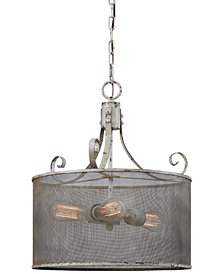 Uttermost Pontoise 3 Light Pendant