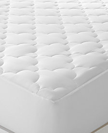 Sleep Philosophy WonderWool Mattress Pads, Moisture Wicking Odor Resistant Fill, Stretch Knit Skirt for Secure Fit