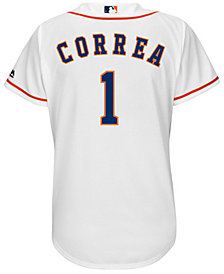 Majestic Women's Carlos Correa Houston Astros Cool Base Player Replica Jersey