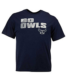 J America Men's Rice Owls Slogan Stack T-Shirt