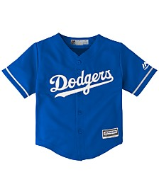 Majestic Toddlers' Los Angeles Dodgers Replica Cool Base Jersey