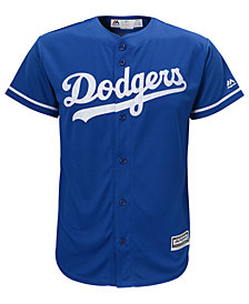 Majestic MLB Los Angeles Dodgers Cool Base Jersey, Little Boys (4-7)