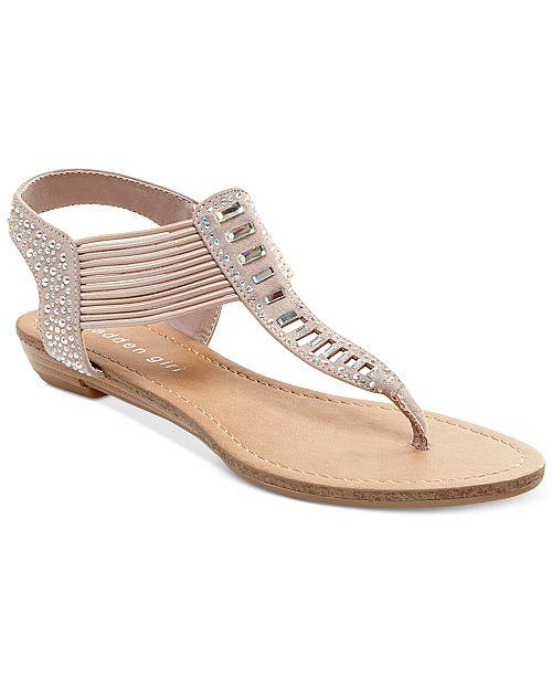 f1d6068f6b0b Madden Girl Triixie T-Strap Flat Sandals   Reviews - Sandals   Flip ...
