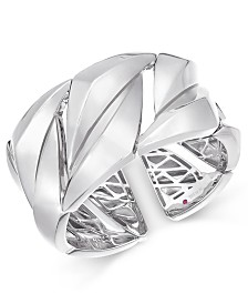 The Fifth Season by Roberto Coin Sterling Silver Cuff Bracelet 7771143SWBA0