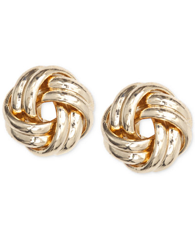 Anne Klein Knot Stud Earrings
