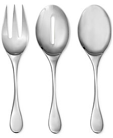 Nambé Skye Dinnerware Collection by Robin Levien 3-Pc. Hostess Set