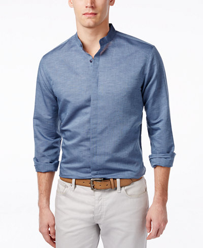 Inc International Concepts Men 39 S Long Sleeve Banded Collar