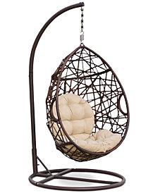 Dustan Wicker Swing Chair