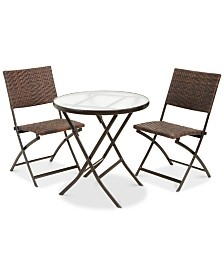 Fenty 3-Pc. Table Set, Quick Ship