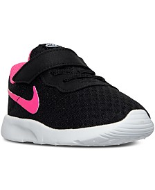 Nike Toddler Girls' Tanjun Casual Sneakers from Finish Line
