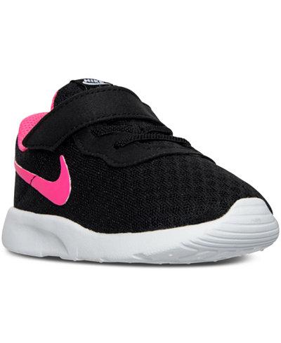 Kids Nike Tanjun Running Shoe Toddler Black/Pink