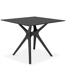 Vela Indoor/Outdoor Table, Quick Ship