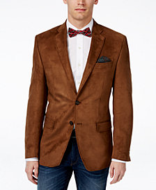 Lauren Ralph Lauren Men's Classic-Fit Moleskin Stretch Sport Coat