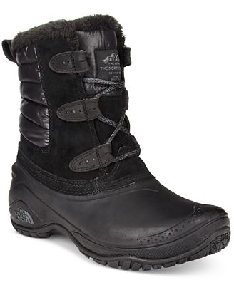 The North Face Women's Shellista Shorty Cold-Weather Waterproof Boots