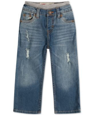 Baby Boys Pull-On Jeans