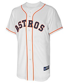 Majestic Jose Altuve Houston Astros Replica Jersey, Big Boys (8-20)