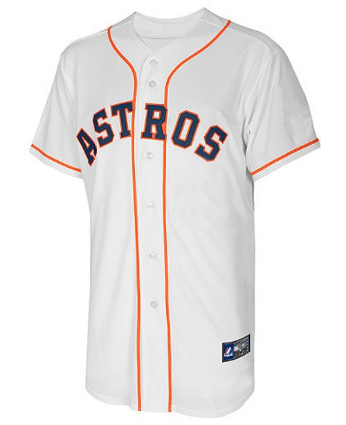 a6029e5d6 Majestic Jose Altuve Houston Astros Replica Jersey, Big Boys (8-20) ...