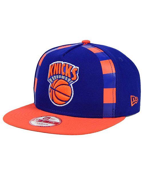 New Era New York Knicks Logo Mural Snap 9FIFTY Cap