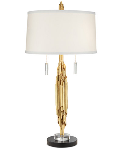 Closeout pacific coast gold ribbon kimbra table lamp lighting pacific coast gold ribbon kimbra table lamp aloadofball
