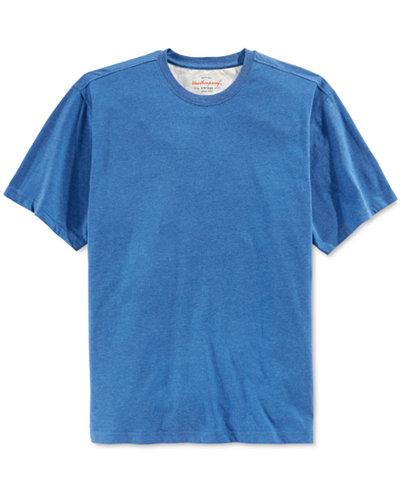 Weatherproof vintage men 39 s big tall crew neck short for Weatherproof vintage men s lightweight flannel shirt