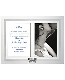kate spade new york Grace Avenue Double Invitation Frame