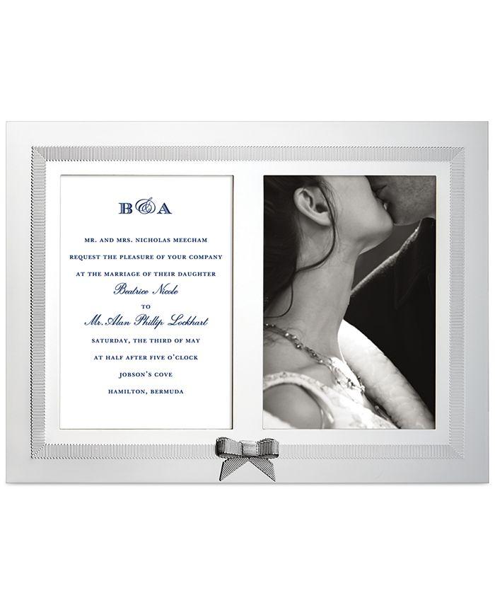 Kate Spade - Picture Frame, Grace Avenue Double Invitation Frame