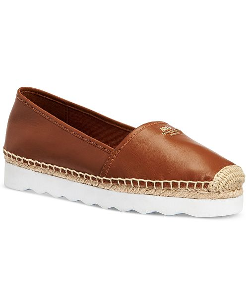 COACH Rye Espadrille Slip On Sneakers