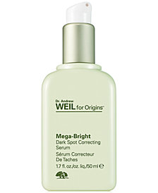 Origins Dr. Andrew Weil Mega-Bright Dark Spot Correcting Serum, 1.7 oz.
