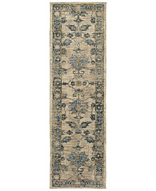 "Oriental Weavers Sedona 5171C 2'3"" x 7'6"" Runner Rug"