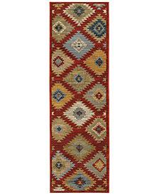 "Oriental Weavers Sedona 5936D 2'3"" x 7'6"" Runner Rug"