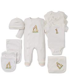 e2a44f38fa694 Little Me Baby Boys   Girls Giraffe Gift Bundle