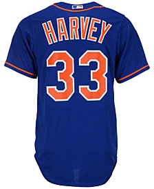 Majestic Men's Matt Harvey New York Mets Replica Jersey