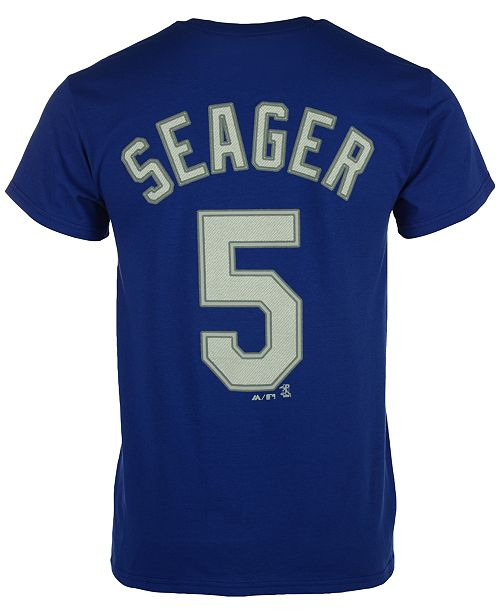 Majestic Men s Corey Seager Los Angeles Dodgers Player T-Shirt ... 1e69538bc5b