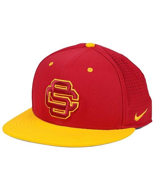 7491ba209559f Nike USC Trojans True Vapor Fitted Cap   Reviews - Sports Fan Shop ...
