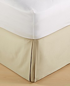 Dimensions Champagne Queen Bedskirt, Created for Macy's