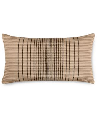 """Onyx 12"""" x 20"""" Decorative Pillow, Created for Macy's"""