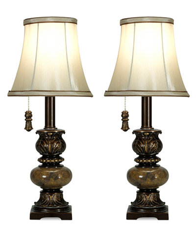 Stylecraft set of 2 trieste marble accent mini table lamps stylecraft set of 2 trieste marble accent mini table lamps aloadofball Image collections
