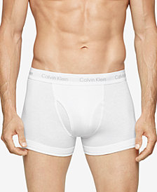 Calvin Klein Men's Cotton Classics 3-Pack Trunks NB1119